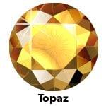 Rhinestones Topaz SS10-0