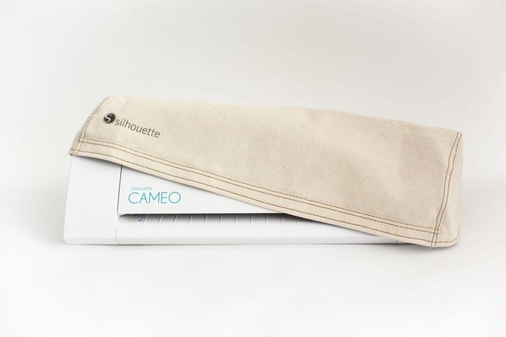 Dust Cover Silhouette cameo 2 Naturel