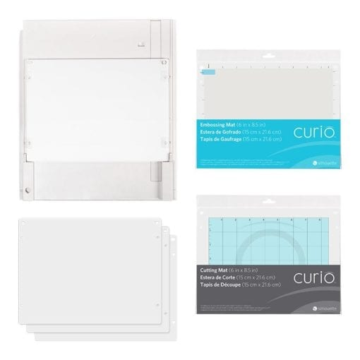 Silhouette Curio 6 x 8,5 inch Base kit -0
