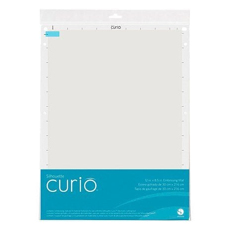 Silhouette Curio Embossing Mat 8,5 x 12 inch-0