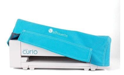 Silhouette Curio Dust Cover blauw-0
