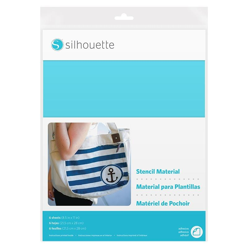 Silhouette Stencil Sheets-Adhesive-0