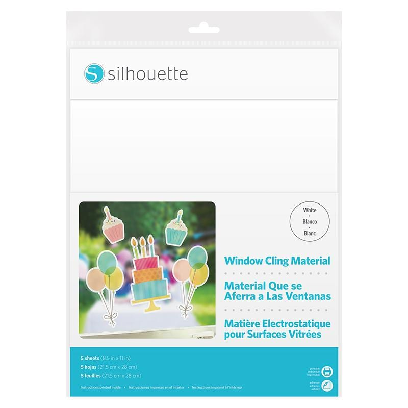 Silhouette Window Cling Material wit-0