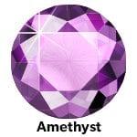 Rhinestones Amethist SS10-0