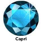 Rhinestones Capri Blue SS10 -0