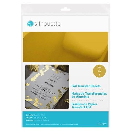 Silhouette Foil Transfer Sheet Gold -0