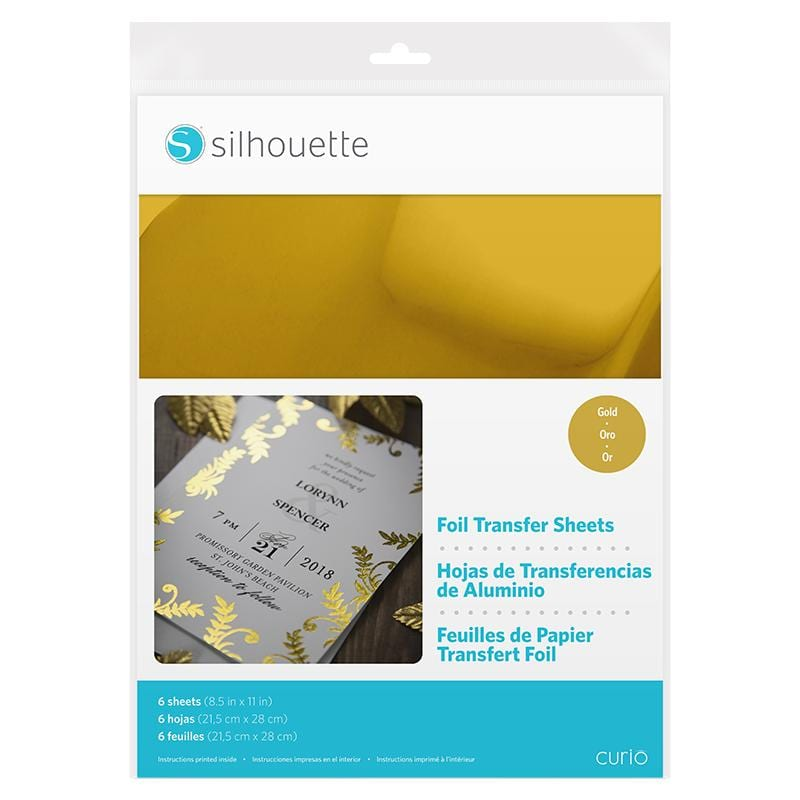Silhouette Foil Transfer Sheet Gold -0