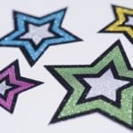 Silhouette Sticker Paper Glitter-1620