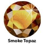 Rhinestones Smoked Topaas SS10-0