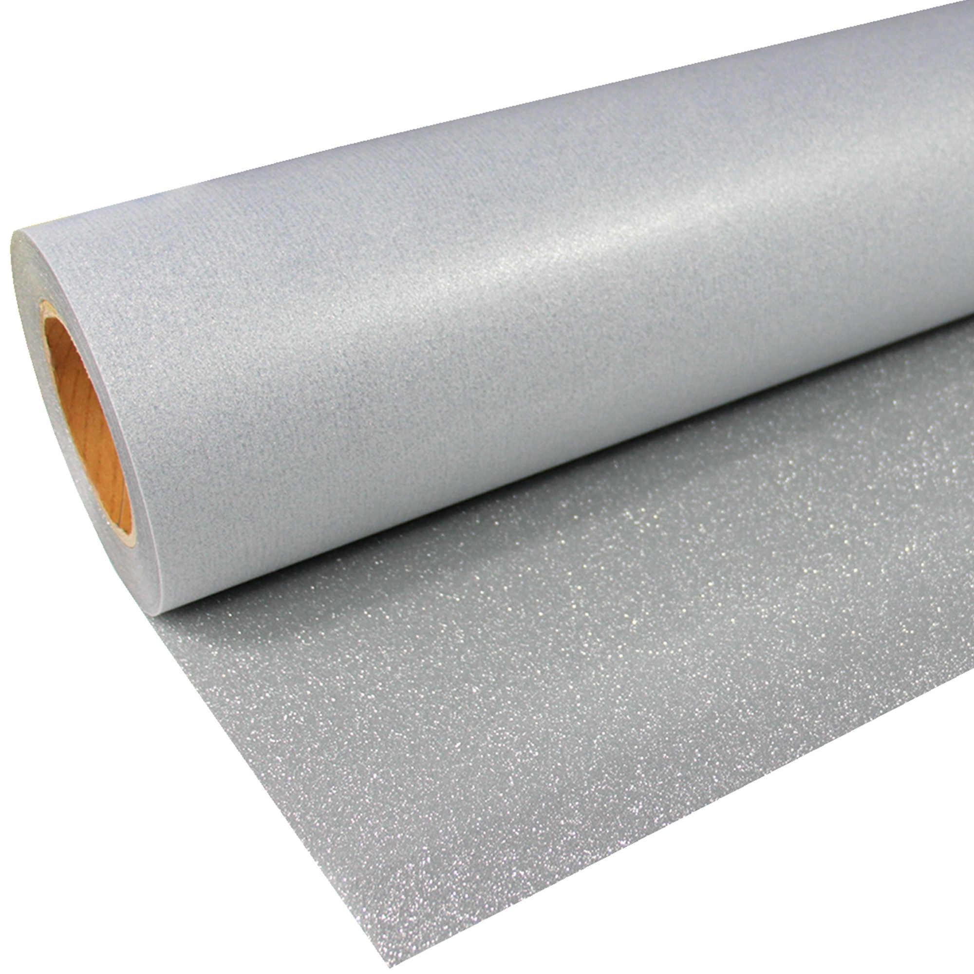 Glitter-921-Silver-Flexfolie