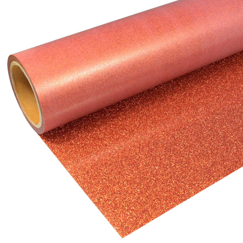 Glitter-931-Orange-Flexfolie
