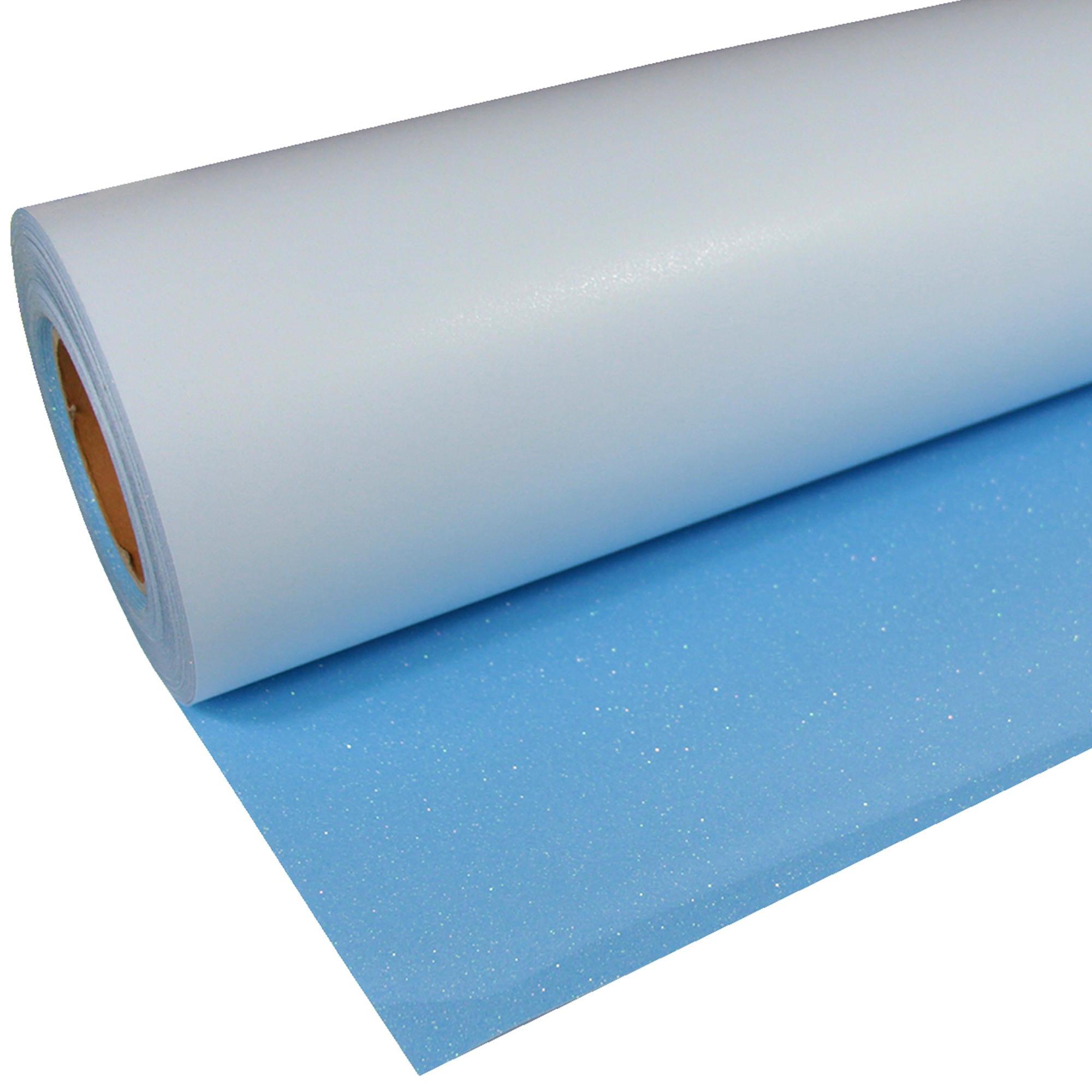 Glitter-938-Neon-Blue-Flexfolie