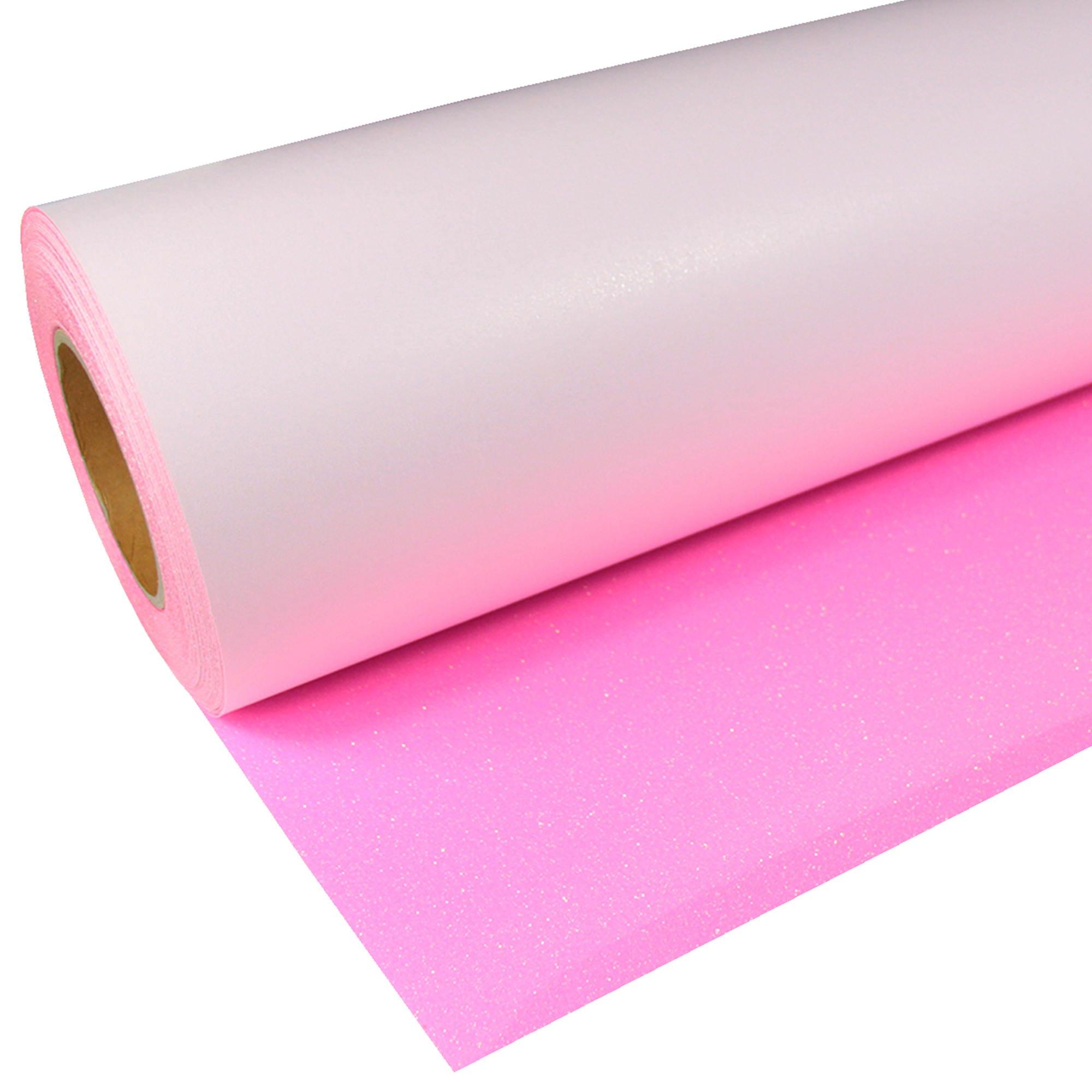 Glitter-941-Neon-Pink-Flexfolie