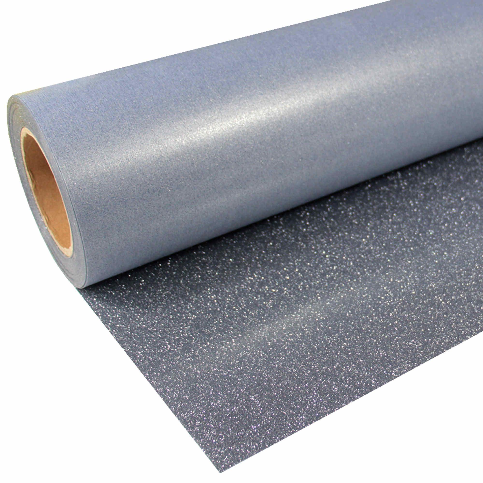 Glitter-949-Black-Silver-Flexfolie