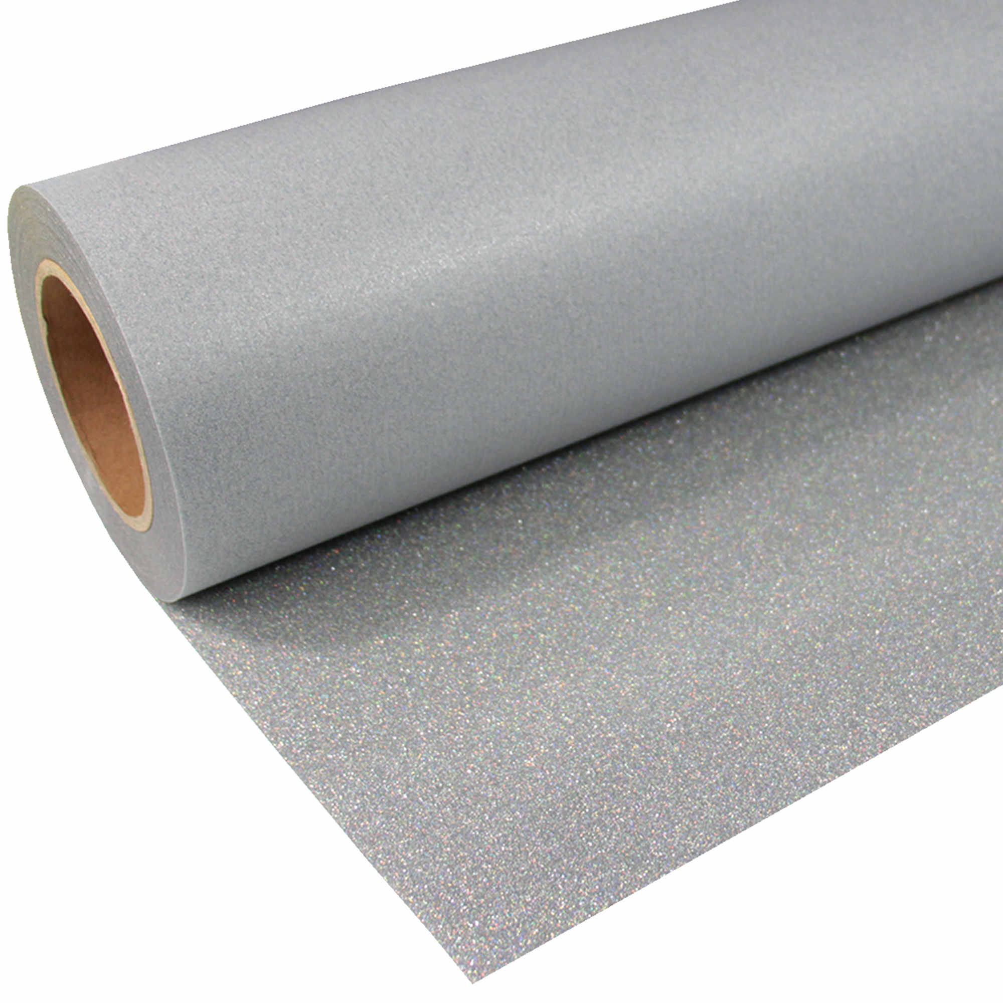 Glitter-951-Holo-Silver-Flexfolie
